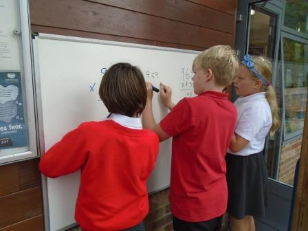 5 Working on our maths