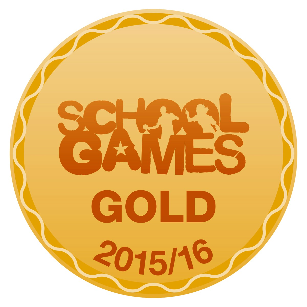 Gold School Games logo