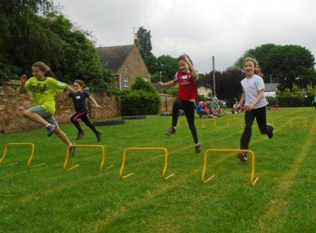 1 web KS2 Sports Day hurdles 1