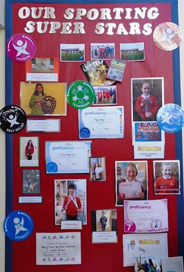 1 web sports stars display